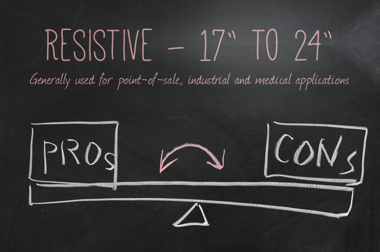 Pros and Cons of Resistive Touchscreen Technology